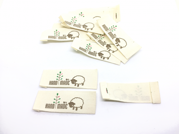 25 Label Schaf Handmade
