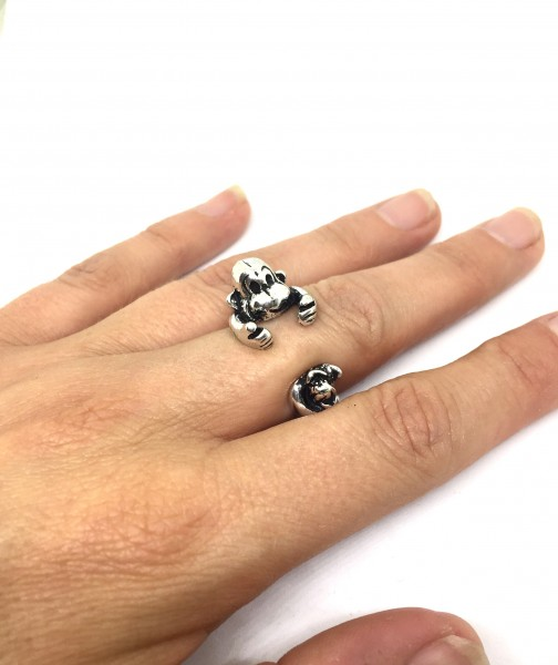 Retro Ring Affe