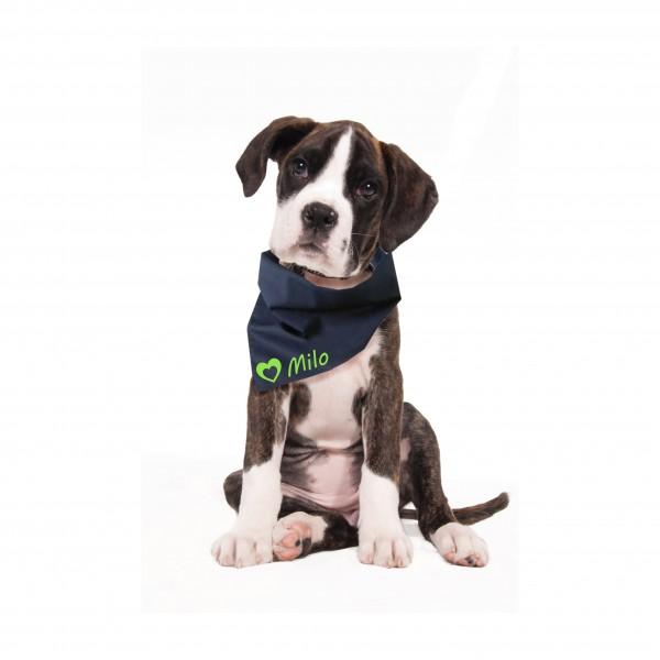 Hundehalstuch mit Wunschname