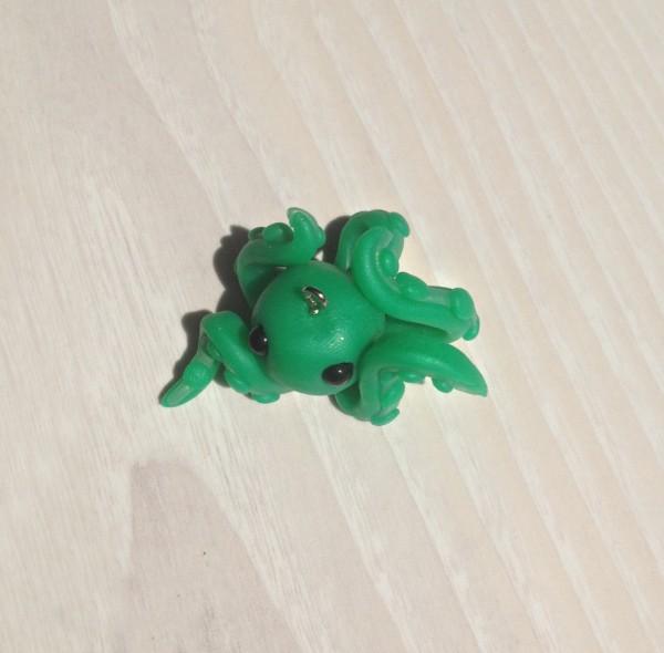 Schlüsselanhänger Oktopus Spoon
